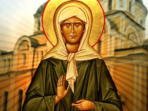 Молитвы Матроне Московской оденьгах, любви издоровье