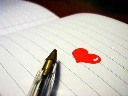Гадание налюбовь набумаге