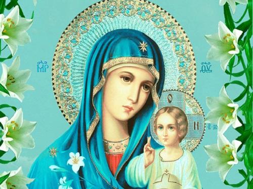 День иконы Божией Матери «Неувядаемый цвет» 16апреля 2019 года