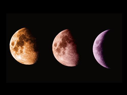 Убывающая Луна виюне 2019 года