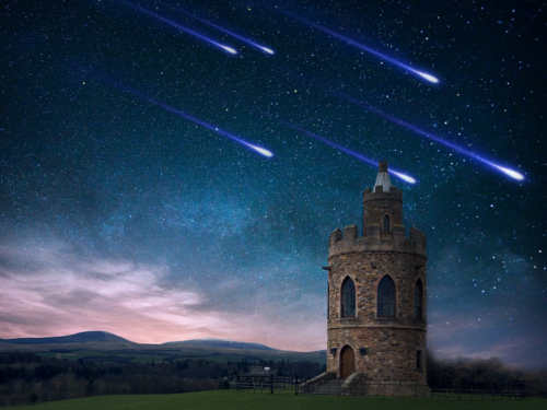 Звездопад вночь с12на 13августа: как загадать желание нападающую звезду