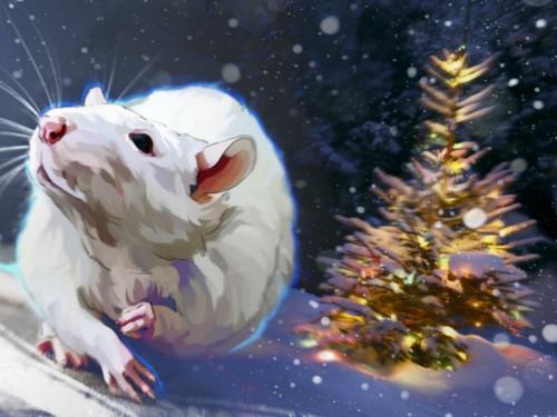 Как нарядить елку наНовый 2020 год Крысы
