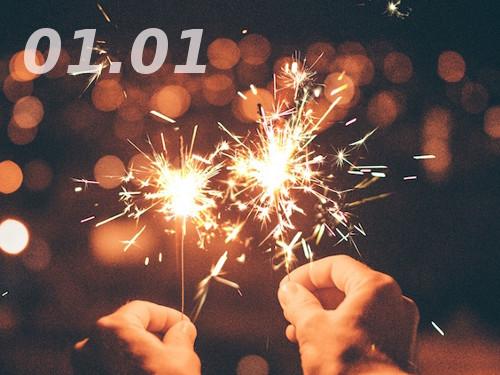 Зеркальная дата января: как привязать ксебе удачу 01.01
