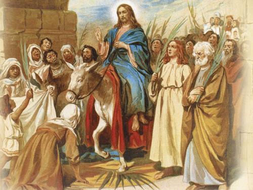Вход Господень вИерусалим 12апреля 2020 года