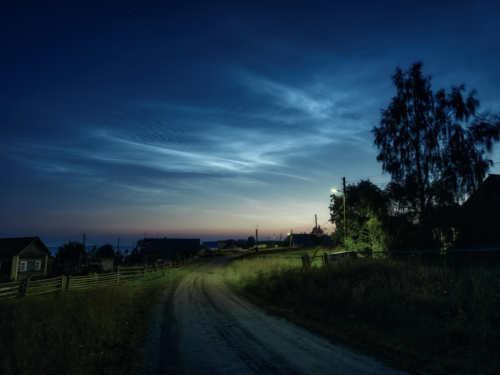 Серебристые облака вавгусте 2020года: зловещий знак или прекрасное природное явление