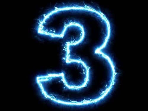 Тройка внумерологии: характеристика изначение числа 3