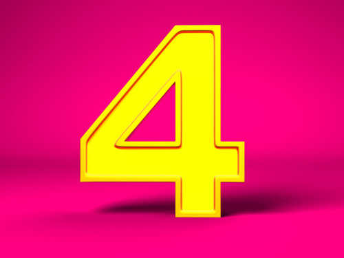 Четверка внумерологии: характеристика изначение числа 4