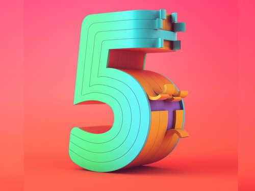 Пятерка внумерологии: характеристика изначение числа 5