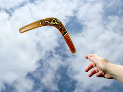 Закон бумеранга: как онработает икак использовать его, чтобы привлечь счастье