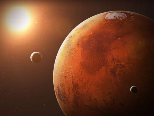 Воктябре 2020 года можно будет наблюдать Марс невооруженным глазом