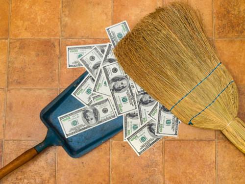5типичных ошибок вуборке, из-за которых деньги уходят издома