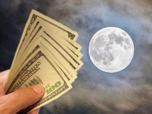 Мощная денежная практика пофазам Луны