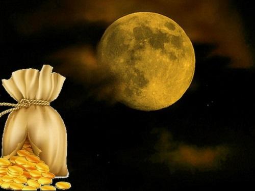 Ритуал наПолную Луну «Чаша богатства»