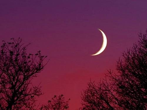 Новая Луна вОвне 12апреля 2021 года
