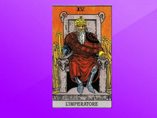 Аркан Таро «Император»: характеристика изначение