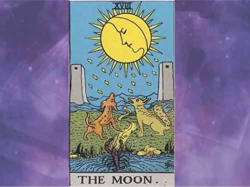 Аркан Таро «Луна»: характеристика изначение