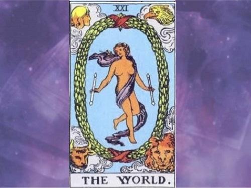 Аркан Таро «Мир»: характеристика изначение