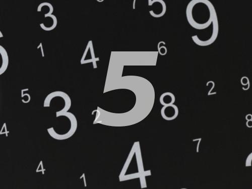 Сакральный смысл Пятерки: энергетика числа 5иего влияние насудьбу иудачу