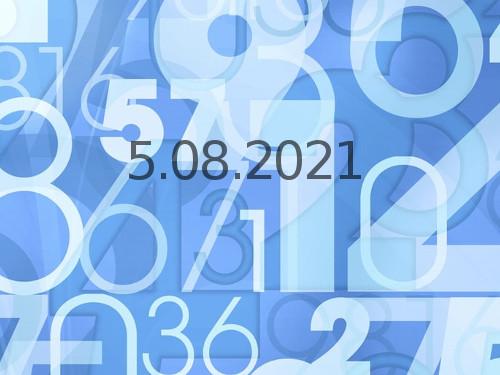 Нумерология иэнергетика дня: что сулит удачу 5августа 2021 года
