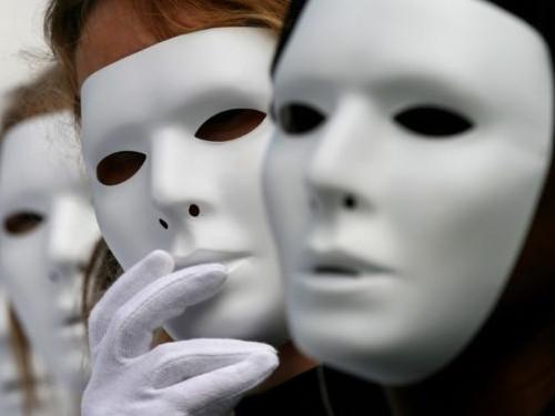 Энергетические оборотни: люди, которые носят маски